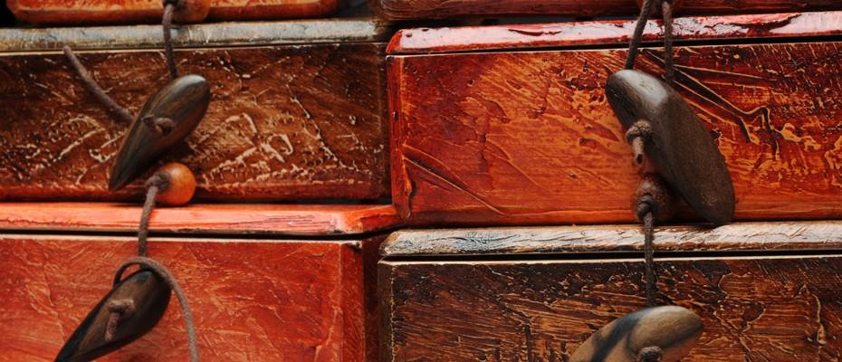 Detail – Mixed Media Boxes